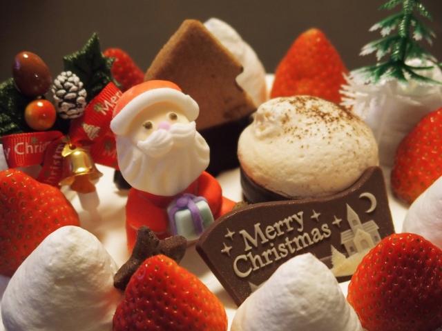 クリスマスケーキ画像