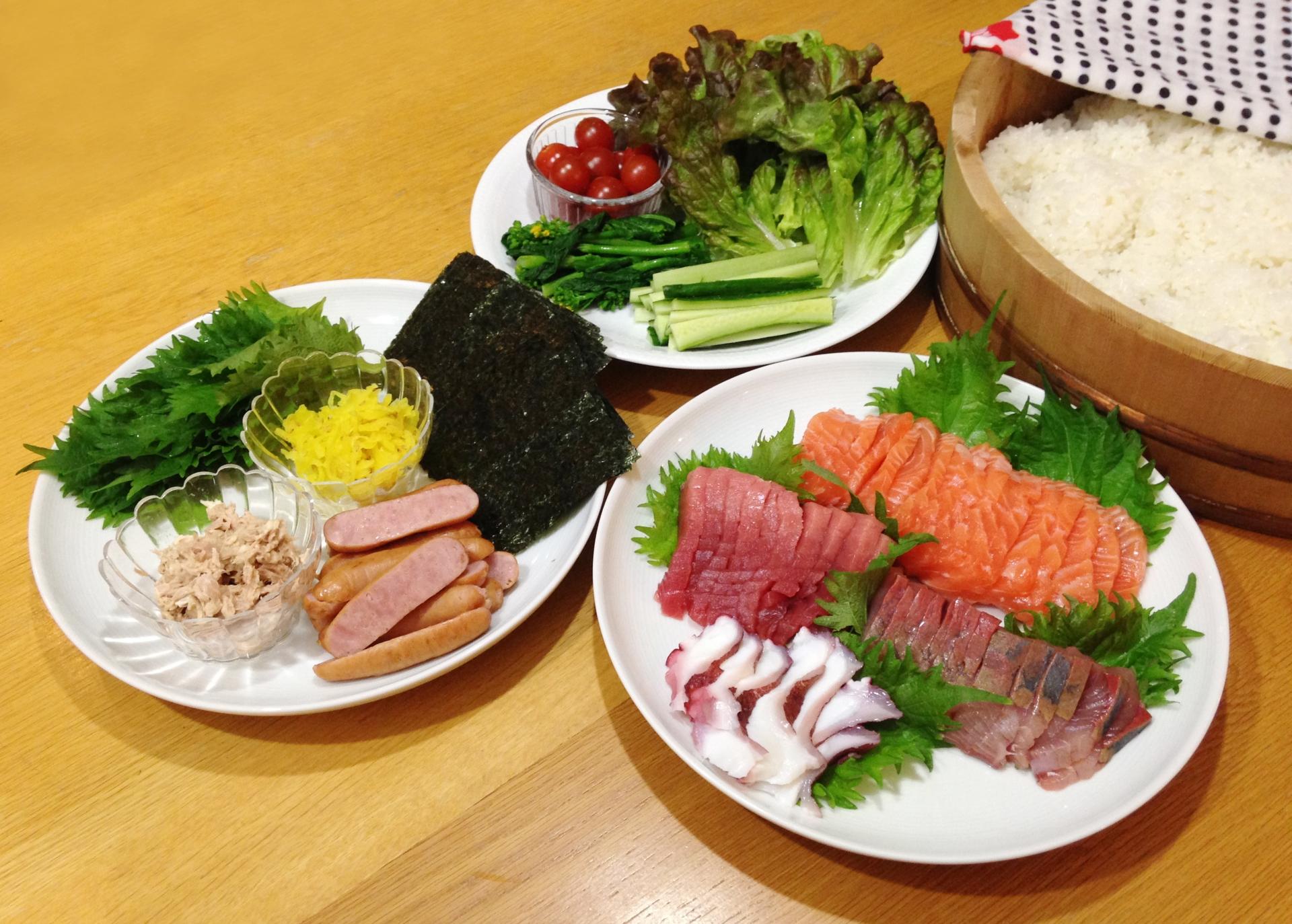 手 巻き 寿司 献立 子供も喜ぶ!手巻き寿司のレシピ&具のおすすめ組み合わせ:白ごはん....