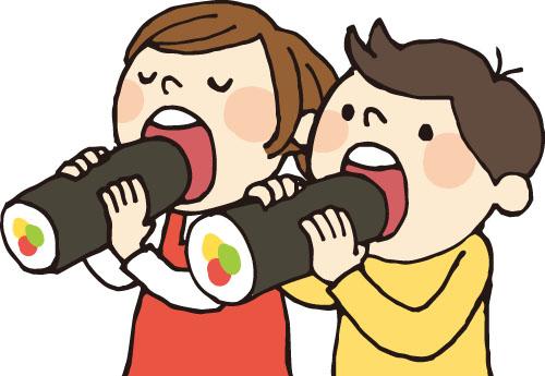方 恵方 巻 食べ 恵方巻きの食べ方とルール│立つのか座るのかなどの注意点