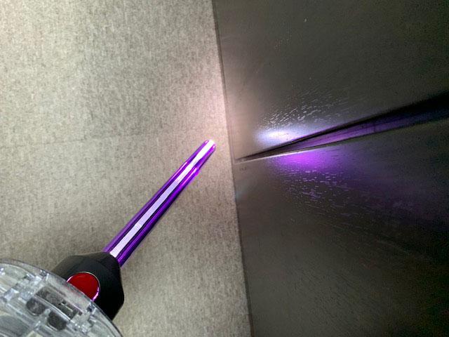 LED隙間ノズル